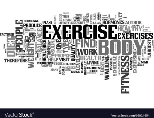 What is the point of exercise?
